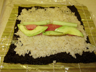 Brown Rice Sushi | HomespunOasis.com