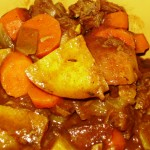Stewed Goat Meat- 2 Ways