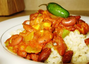Red Beans: Rajma Style