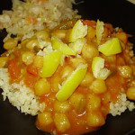 Garbanzo Bean (Chick Pea) Curry