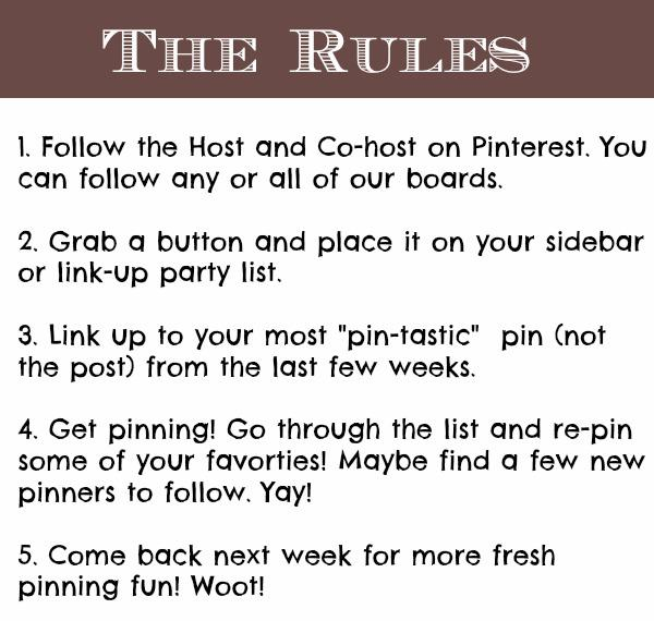 Pin It Party Rules