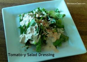 Tomato-y Salad Dressing
