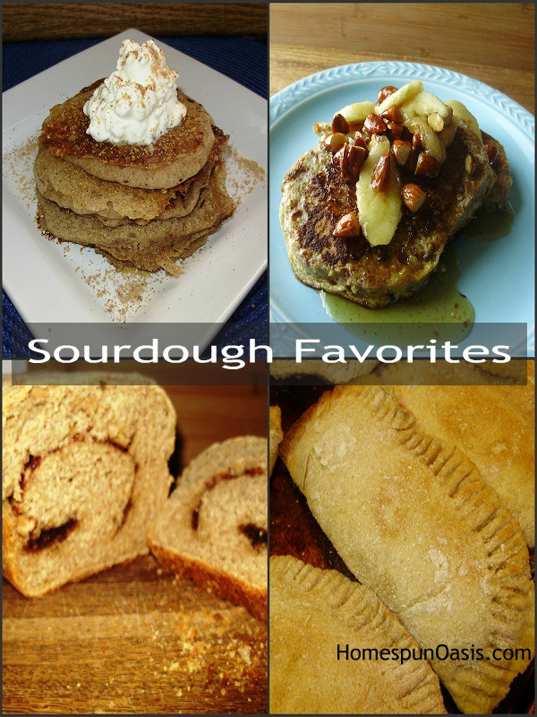 My Well-Traveled Sourdough Starter and Favorite Sourdough Dishes | HomespunOasis.com