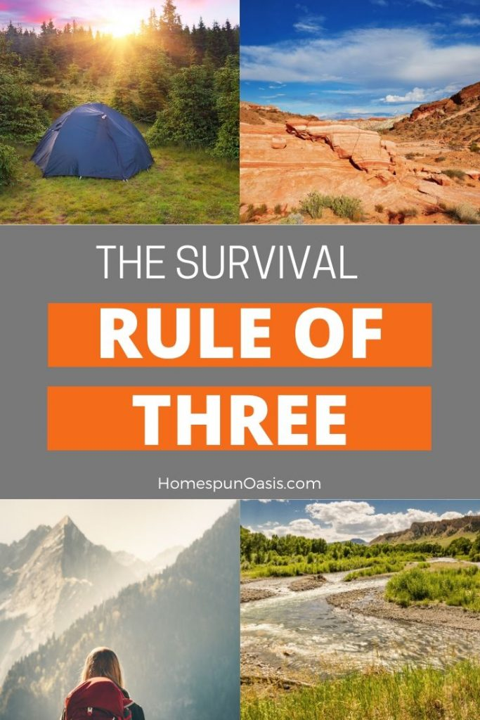 Survival Rule of Three