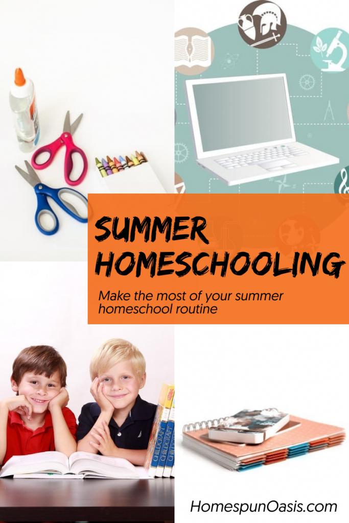 Summer Homeschooling